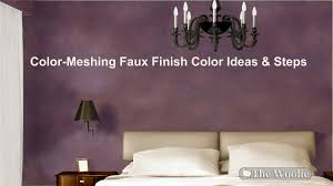 COLOR MESHING Ideas, Color Combinations, Rooms, Walls, Inspirations by The  Woolie (#FauxPainting) - YouTube