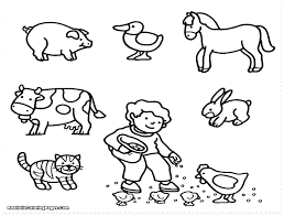 Colouring In Farm Animals Free Printable Coloring Pages Farm Animals