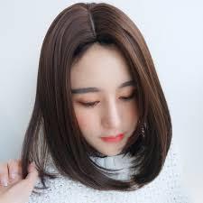 Parochňa žena Sieť červené Rameno Krátke Vlasy V Strede Dlhá Okrúhla Tvár Dlhé Rovné Vlasy Temperament Oprava Tvár Kľúčnej Kosti Prírodná Parochňa