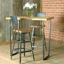 Table Haute De Cuisine Et Tabouret Table Bar Tabour Table Bar Tabour
