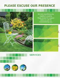 the online landscaper landscaping lawn care and snow removal you can exclusive flyer templates below 1 of 9