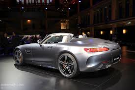 2017 Mercedes-AMG GT C Roadster Shows Up Topless In Paris ...