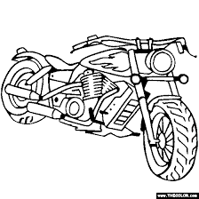 Download this coloring page/print this coloring page. Motorcycles Motocross Dirt Bike Online Coloring Pages