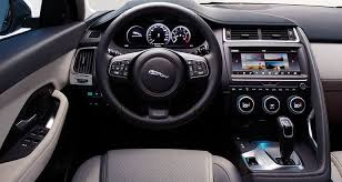 2018 jaguar f pace interior. simple 2018 2018 jaguar epace suv interior in jaguar f pace