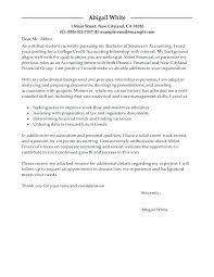 Cover Letter For Summer Internship In Accounting Bunch Ideas Of