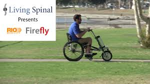 Firefly Electric Lighting Corporation Firefly Electric Handcycle For Wheelchairs