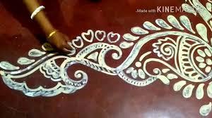 Border Alpana Design Kalka Design Alpana Muggulu Kolam Rangoli Jhoti Chita