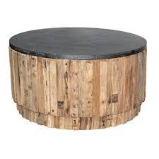 nl 91 zinc top round coffee table
