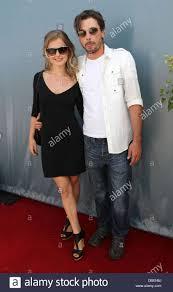 Skeet Ulrich and his wife Amelia Jackson Gray Melanie Segal's Red Stock  Photo - Alamy