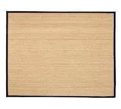 black border rug wool build your own custom bound this jute black handwoven rug