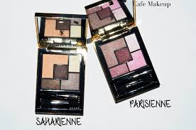 up essential with ysl saharienne and parisian 5 couture eyeshadows01 paris