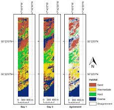 seafloor clification algorithms