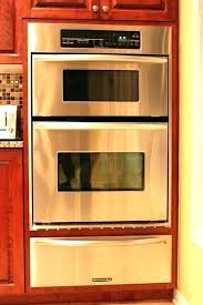kitchenaid wall oven review single wall oven reviews built in electric convection black double single wall