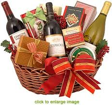 ... wine baskets for christmas learntoride co ...