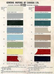 1964 Chevelle Paint Charts And Codes