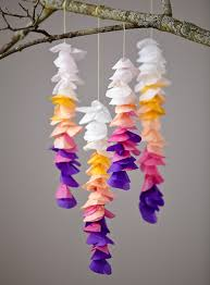 Paper Flower Mobiles How To Make A Paper Flower Mobile Magdalene Project Org