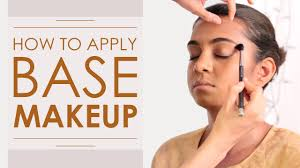 makeup tutorial how to apply the perfect flawless makeup base foundation you