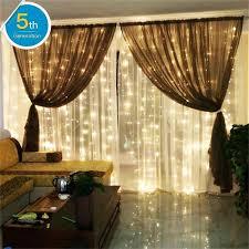 Bedroom Waterfall Lights