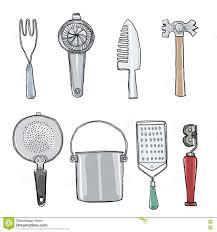 vintage kitchen utensils illustration. Modren Illustration Download Vintage Kitchen Tools Hand Drawn Art Illustration Stock   Of Drawn Collection And Utensils C