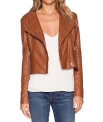 brooze women biker leather jackets2