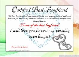 Best Boyfriend Free Certificate Templates You Can Add Text Images