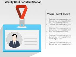 Identification Template Identity Card For Identification Powerpoint Template Powerpoint