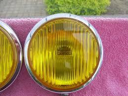 Bosch Yellow Fog Lights Fs Bosch Halogen Yellow Fog Lights Sold Bmw E9 Coupe