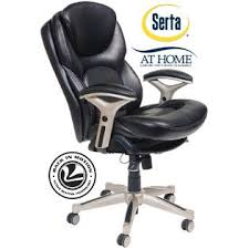 Serta At Home Back In Motion Health U0026 Wellness MidBack Office Chair