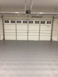 mikes garage doorMikes TrueLock Diamond Garage Floor Tile Project