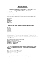 Sample Survey Questionnaires For Thesis  Questionnaire  Write My
