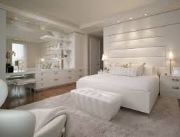 White Bedroom Custom Decorating Ideas