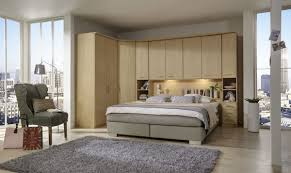 Luxor Bedroom Furniture Luxor 4 Overbed Unit With 50cm Wood Doors Open Side Elements And