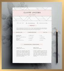 Creative Resume Templates Etsy Domaen