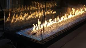 custom pier gas fireplace
