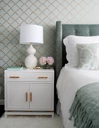 white nightstand with gold hardware breathtaking bamboo pulls transitional bedroom home interior 8