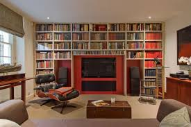 Classic Home Library Design Home Round