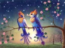 Love Birds | Bird wallpaper, Art, Bird art