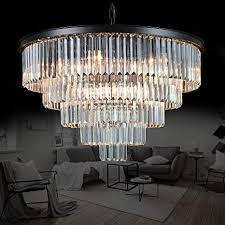 Meelighting Luxury <b>Modern</b> Crystal <b>Chandeliers Lighting</b> ...