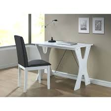 desk white writing desk for baxton studio cary contemporary dark brown white writing desk