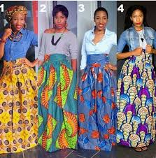 African Skirts Patterns Fascinating 48 Ways To Wear African Print Dresses