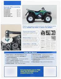 amazon com kawasaki bayou prairie atv haynes repair manual amazon com kawasaki bayou prairie atv haynes repair manual 1986 2011 automotive