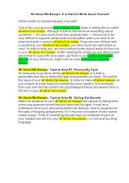 about me essay sample essay about me examples and samples view larger writing a personal essay about yourself pendlenet
