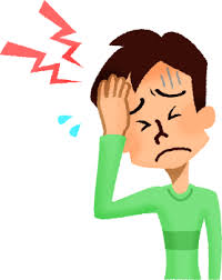 頭痛の男性の無料イラスト | フリーイラスト素材集 ジャパクリップ