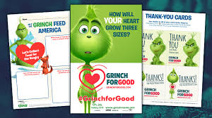 Food Drive Posters Get Your Free Grinchforgood Holiday Food Drive Classroom Kit