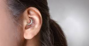 Image result for Can you sleep on a Daith piercing?