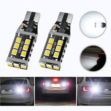 Tailgate Light Bulb Hocolo Extremely Bright Led Bulb 2200 Lumens Error Free 360 Degree Shine 921 912 T10 T15 906 904 902 3035 Chips For Backup Reverse Lights Xenon