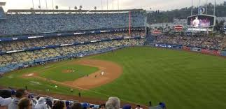 Dodger Stadium Section 36rs Home Of Los Angeles Dodgers