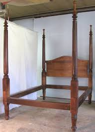Empire Four Poster Antique Bed Pertaining To High Post Beds Ideas ...