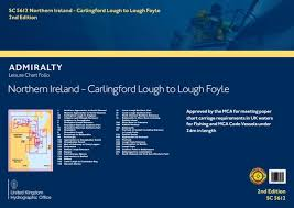 Sc5612 Northern Ireland Carlingford Lough To Lough Foyle 3rd Edition