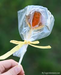 soothing honey lollipops on myfrugaladventures com simple and easy honey lollipops perfect treat